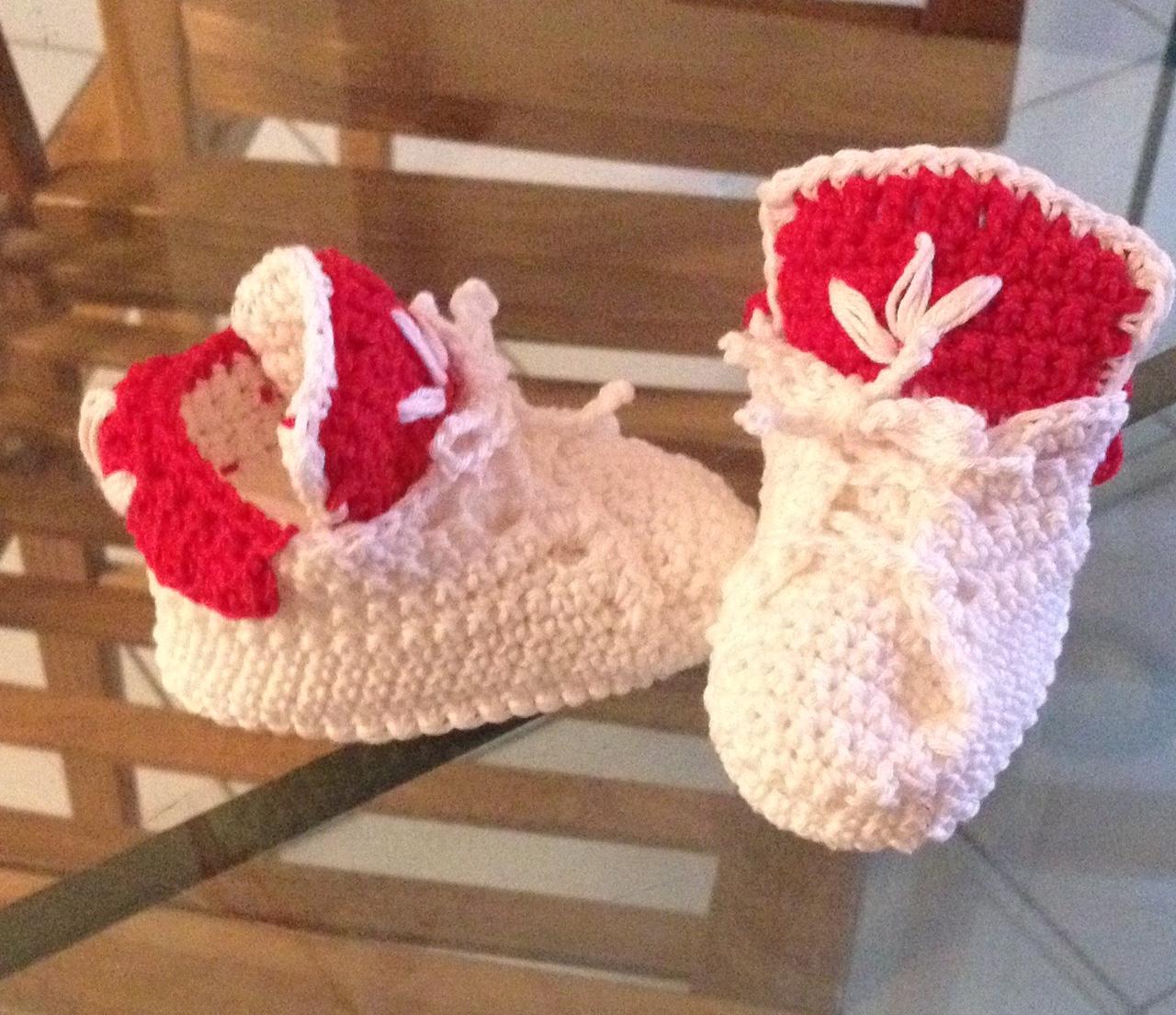 Tutorial Scarpine Neonato Tipo Adidas Crochetime